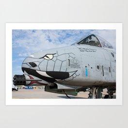 Fairchild A-10C Thunderbolt II Art Print