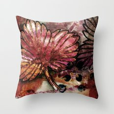 Late beauty Throw Pillow