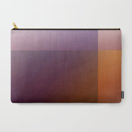Geometric Gradient Blocks Carry-All Pouch