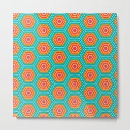 Vintage pattern No1 Metal Print