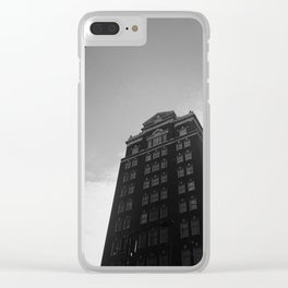 Center City Philadelphia Clear iPhone Case