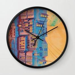 Vertical video Wall Clock