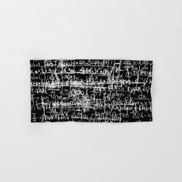 Math Numbers Hand & Bath Towel