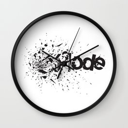 Explode Wall Clock