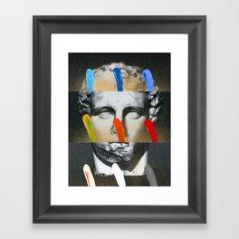 Composition On Panel 17 Framed Art Print