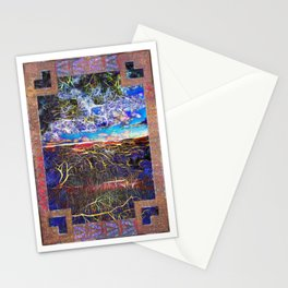 Horizon In A Fantastic Valley Stationery Cards