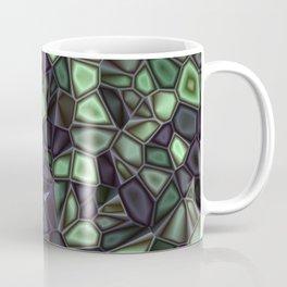 Fractal Gems 04 - Emerald Dreams Coffee Mug