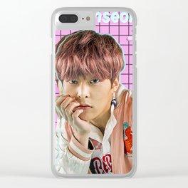 Kim Minseok Clear iPhone Case