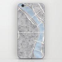 portland iPhone & iPod Skins featuring Portland Oregon by Anne E. McGraw