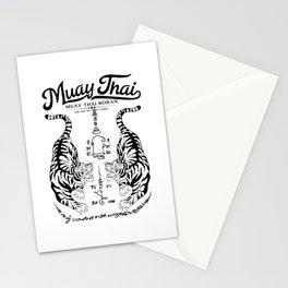 Muay Thai Tattoo Stationery Cards