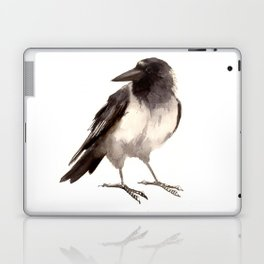 Crow decor, hooded crow art Laptop & iPad Skin