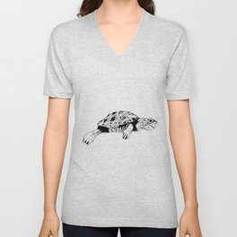 Malaclemys Terrapin (R) Unisex V-Neck