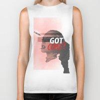 lindsay lohan Biker Tanks featuring Lindsay Lohan - Got Coke? by RinRin