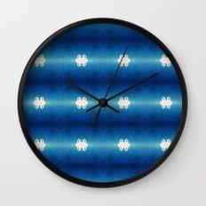 Blue Calera Wall Clock