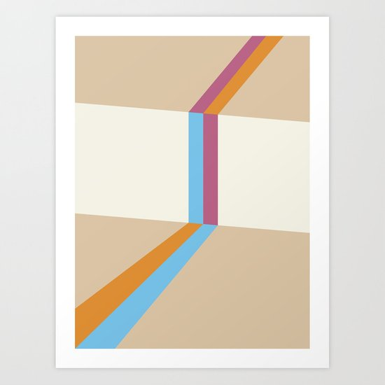 Poligonal 177 Art Print
