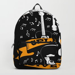 Guitar T-shirt Gift Guitarist Backpack