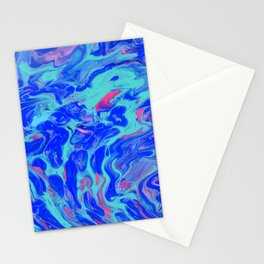Paint Pouring 31 Stationery Cards