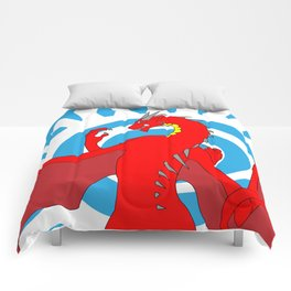 Annoth the Warrior Dragon Comforters