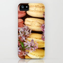 Pretty Macaroons iPhone Case