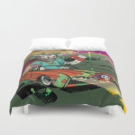 Arch Rival Duvet Cover