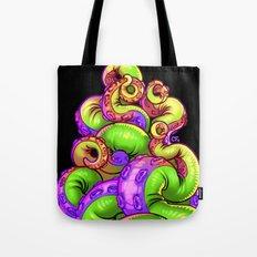 Tentacle Demoness (GREEN version) Tote Bag