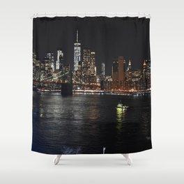 Night Sights Shower Curtain