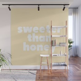 sweeter than honey Wall Mural
