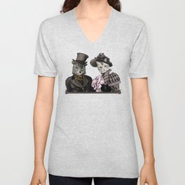 The Owl and the Pussycat Unisex V-Neck