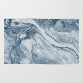 Cipollino Azzurro blue marble Rug