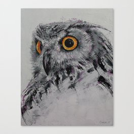 Spirit Owl Canvas Print