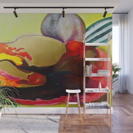 Burn The Flowers For Fuel Wall Mural