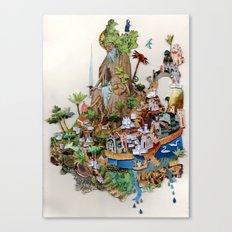 Isle Canvas Print