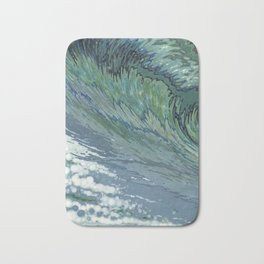Churning Up Bath Mat