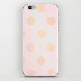 Rose Gold Glitz iPhone Skin