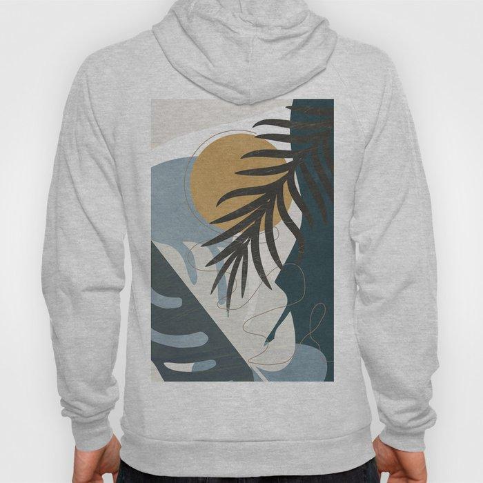 Abstract Tropical Art II Hoody