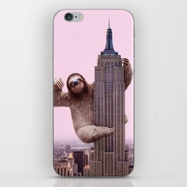 KING SLOTH iPhone Skin