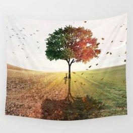 Two Seasons by GEN Z Wall Tapestry