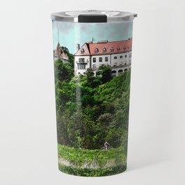Tyniec Krakow art #tyniec #cracow Travel Mug