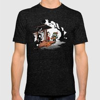 Halloween Decoy Tri-Black Mens Fitted Tee X-LARGE