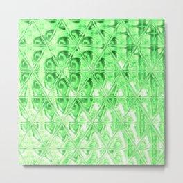 Triangle Glass Tiles 315 Metal Print