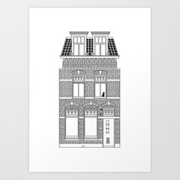 DUTCH HOUSE Art Print