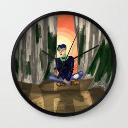 Raising Son Wall Clock