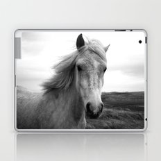 white horse Laptop & iPad Skin