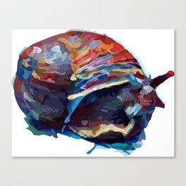 Cosmic Snail Canvas Print