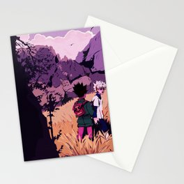 gon and killua Stationery Cards