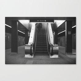Step Down Canvas Print