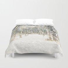 Winter Woods Duvet Cover