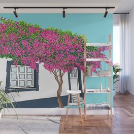 Little house in Portugal Wall Mural