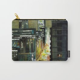 Chicago At Night Watercolor Painting Carry-All Pouch