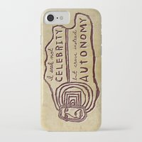 celebrity iPhone & iPod Cases featuring Celebrity & Autonomy by Josh LaFayette